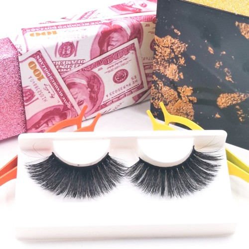 eyelashes paper packaging Brand Premium Top Quality Fur Strip Case Real Handmade 3d Silk Lashes eyelashes