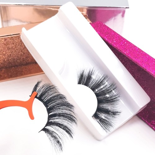 private lable eyelashes and custom package  private label wholesale 3d eyelash