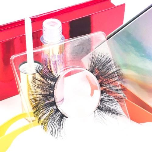 eyelashes mink pack Oem Charming New Style Private Label Individual 3D Soft Silk Eyelashes