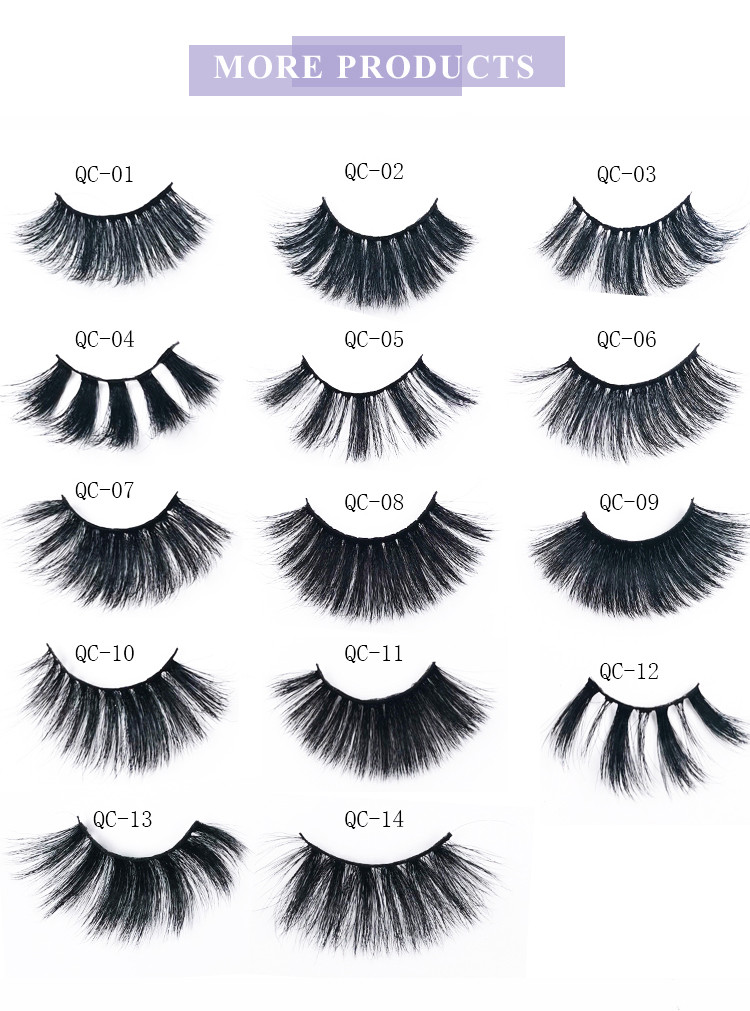 more products, silk lashes, custom package