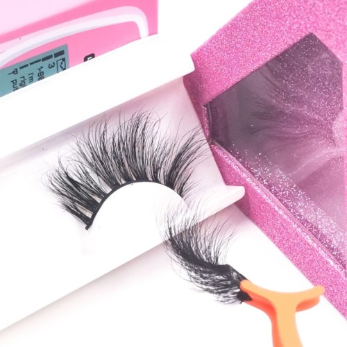 3d Mink Fur regular eyelashes Handmade Hot Selling Own Brand Free Sample Fashion Style