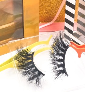 eyelashes mink cheap False Eyelashes Oem Private Label Own Brand Cruelty Free 100% Handmade