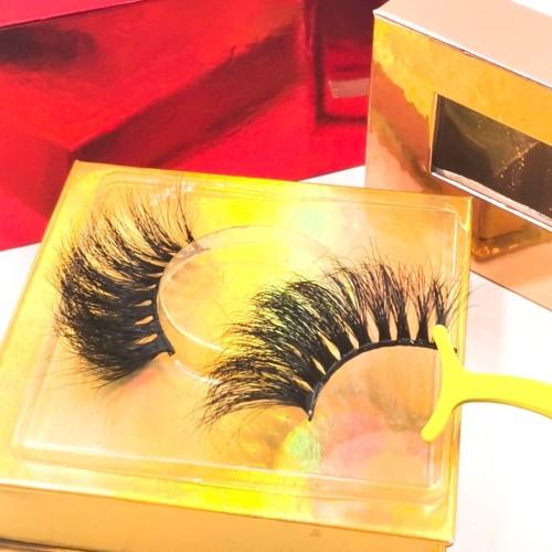 eyelashes wholesale mink 25mm mink EyelashNew Design Many Different Styles Multi Layers lashes For Sale