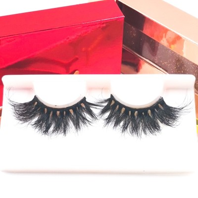 3d Mink Full eyelash packaging box Wholesale Perfect Grade 100% Handmade Premium False Lashes