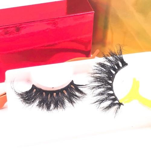3d Mink Full eyelash packaging box Wholesale Perfect Grade 100% Handmade Premium False Lashes