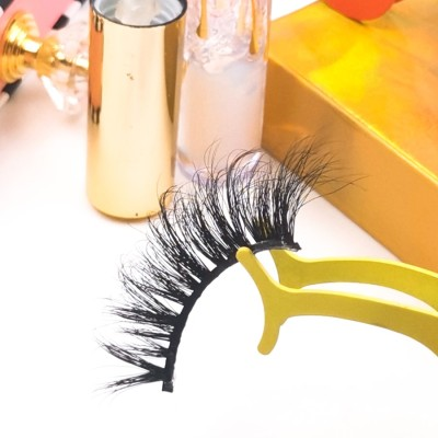eyelashes paper box Different Design Soft  Own Brand Many Choose 3d 25mm MinkLashes Eyelashes