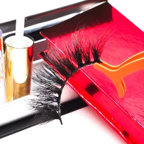 lash packaging in bulk eyelashes private label 25mm natural long mink eyelashes package