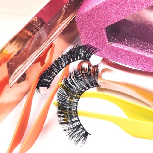 Custom Packaging mink fur lash Natural custom lash packaging boxes Faux Mink Eyelashes
