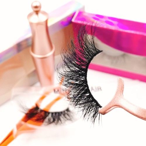 Private Label Luxurious 100% Real Single Thick custome boxes for eyelashes
