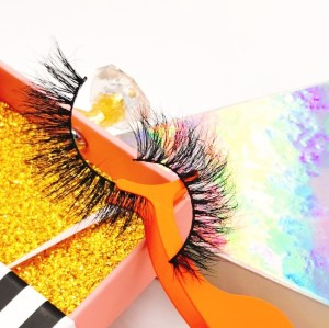 Create Your Own Brand 3d Eyelashes Wholesale Custom Packaging 100% Real Mink