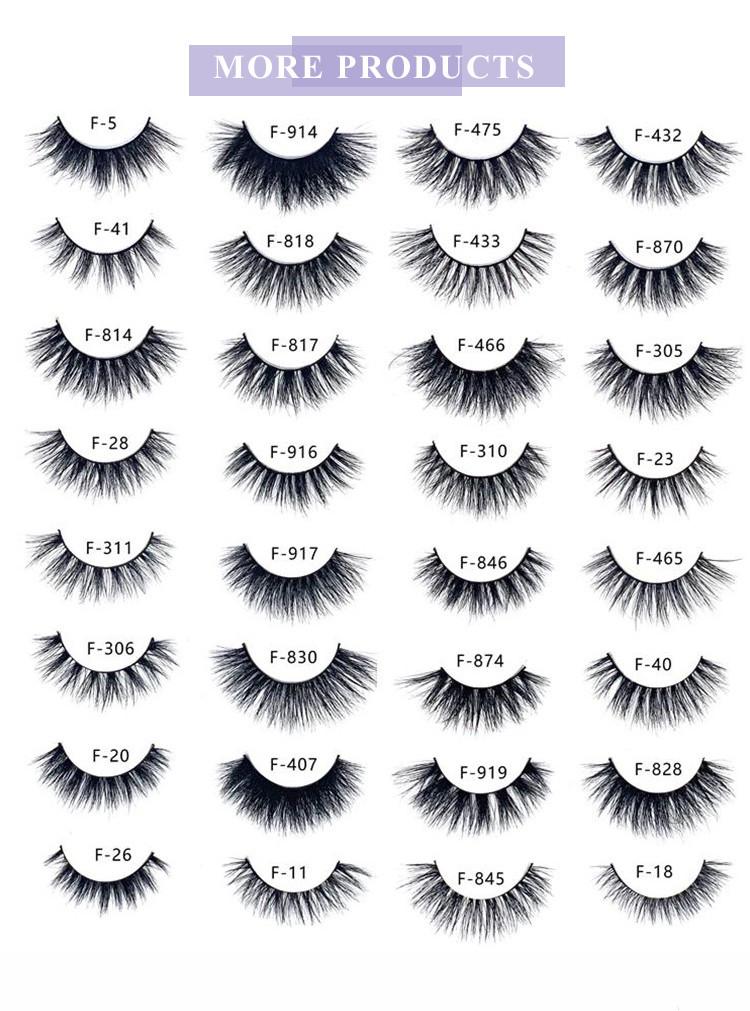 eyelash mink strips