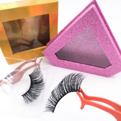Factory Own Brand New Fashion Style Private Label Handmade 3d natural eyelashes