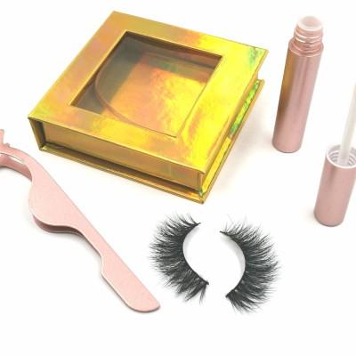 wholesale own brand 100% real beauty supply fabric eyelashes eyelashes with customer package