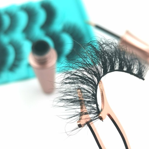 mink eyelashes 100% real twinkle eyelashes pbt synthetic fiber mink individual eyelashes