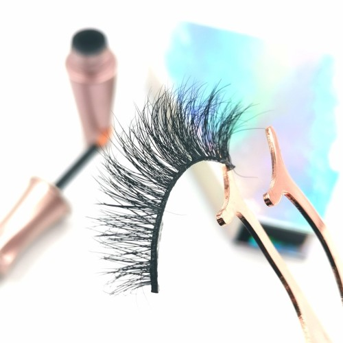 100% Real Hand Made Mink Lashes mink eyelashes vendor For Beauty