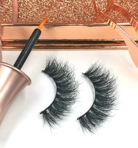 Handmade 3d Mink Eyelashes False Lashes With Custom mink eyelashes for cheap