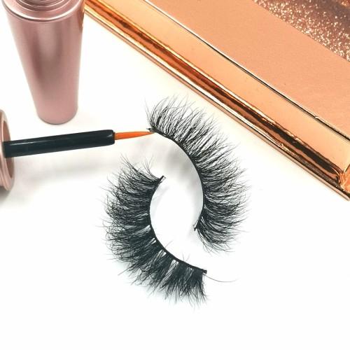 Handmade 3d Mink Eyelashes False Lashes With Custom mink eyelashes for cheap