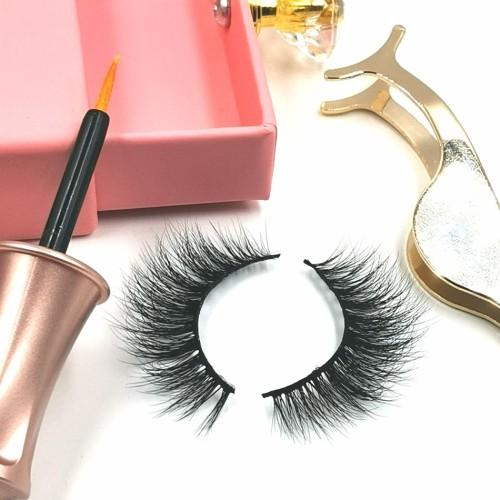 eyelashes mink private label eyelashes package box lashes private label 6d fluffy mink eyelashes