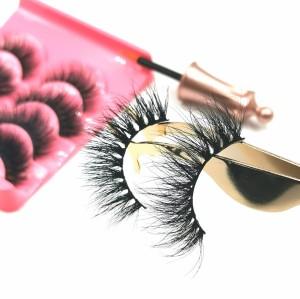mink eyelashes private label 100% cruelty free private laberl eyelashes custom