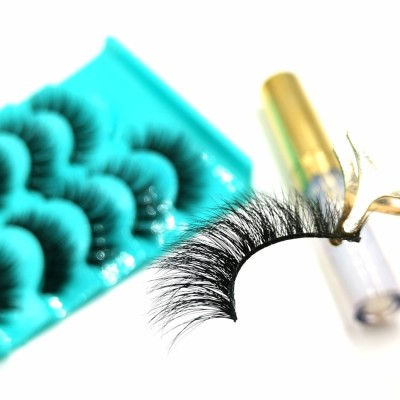 wholesale new design private label 3d mink eyelashes with custom eyelashes mink long