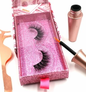 private label long lasting with custom logo 3d mink false eyelashes natural