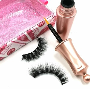 private label long lasting with custom logo 3d mink false eyelashes natural