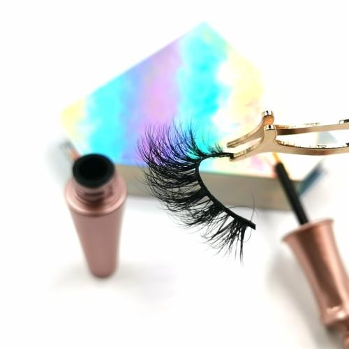 wholesale packaging customized 100% real mink eyelashes custom with customize box