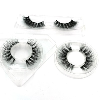 wholesale own brand 100% real beauty supply synthetic false eyelashes with customer package