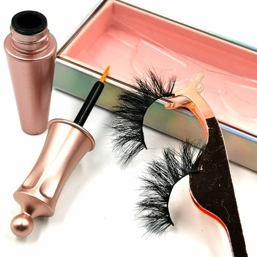 100% Real Mink Individual Eyelash Wholesale Mink Eyelashes Custom twinkle eyelashes