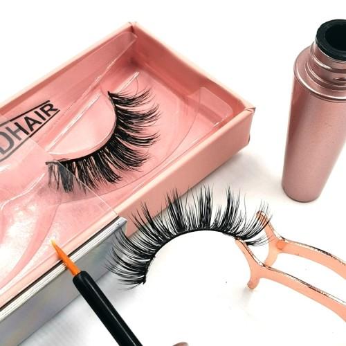 Strip Custom Eyelash Packaging Private Label OEM 100% eyelashes package box