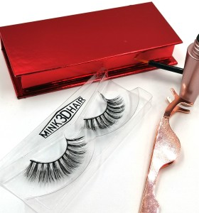 3d Mink Strip Eyelash False Lashes Factory Wholesale french eyelashes lace With Custom Packaging
