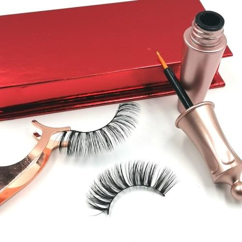 3d Mink Strip Eyelash False Lashes Factory Wholesale french eyelashes lace With Custom Packaging
