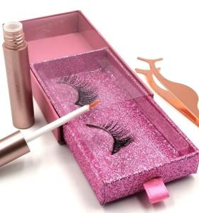 3d Silk Eyelashes Factory Oem Private Label Lashes Box Luxury Black eyelashes manufacturer indonesia