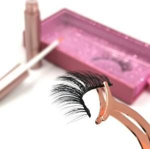 3d Silk Eyelashes Factory customized Private Label Lashes Box Luxury Black eyelashes manufacturer indonesia