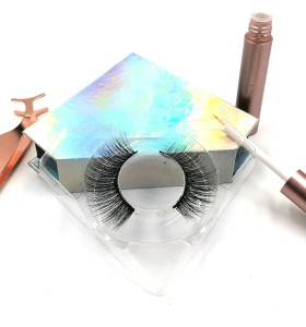 False Strip Lashes Wholesale Price Private Label Premium mink eyelashes reviews 3d Silk Eyelashes