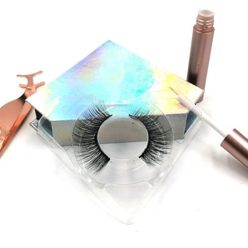 False Strip Lashes Wholesale Price Private Label Premium mink eyelashes reviews 3d Silk Eyelashes