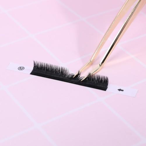 crisscross eyelashes selling false eyelashes accessories thick laches with eye lashes packaging box
