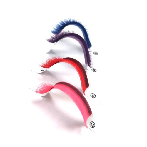 Wholesale Factory Prices Custom Mink Silk Thick Real Individual false eyelashes volume Extensions