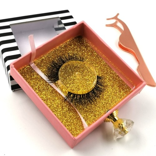 Real Hand Made 3d mink lashes wholesale vendor With Custom Packaging