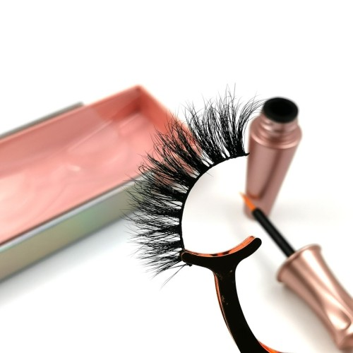 100% Real Hand Made 3d Mink Eyelash With Custom eyelashes packaging