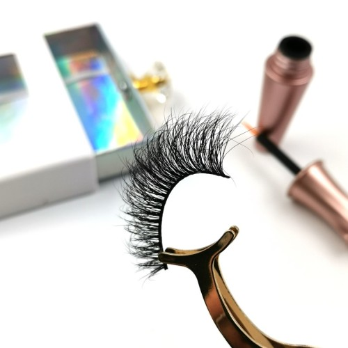 Manufacturers Private Label Custom Package Free Samples 100% private label eyelashes