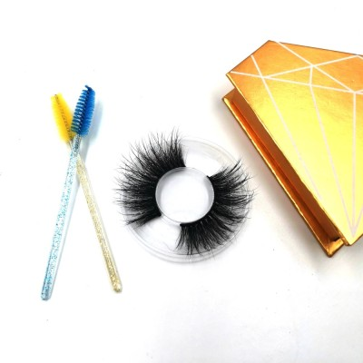 Add to CompareShare Wholesale Price Long Length 100% Real Mink Full Volume 3D Mink 25mm Eyelashes