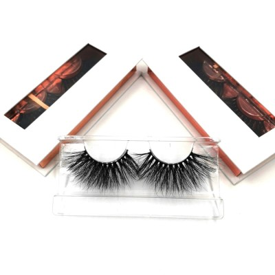 Own Brand 3D Mink Lashes Private Label Top Quality Real Mink Lashes 25mm Eyelashes