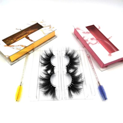 Customized Premium Lashes Strips  Logo And Lashes Package 3d Mink Customized Logo And Lashes