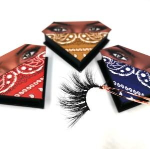 Customized Premium Lashes Strips  Logo And Lashes Package 3d Mink Customized Logo And Lashes