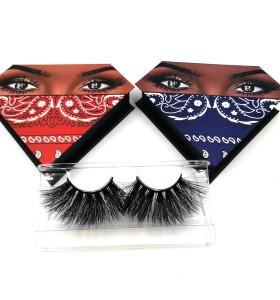 3d Mink Strip Eyelash False Lashes Factory 3d Mink Eyelashes With Custom Eyelash Packaging