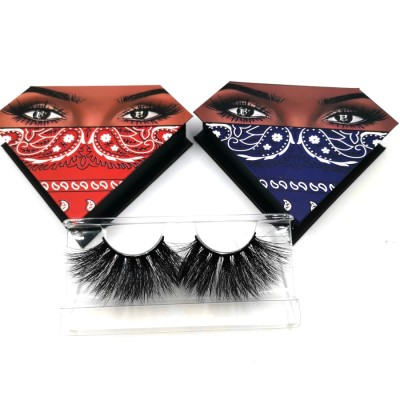 3d Mink Strip Eyelash False Lashes Factory 3d Mink Eyelashes With Custom Eyelash Packaging