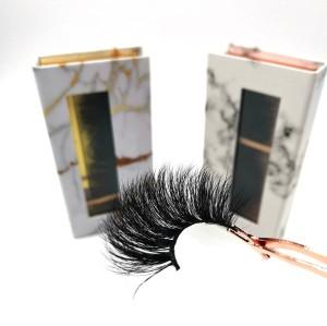 Wholesale Faux Mink Lashes Full Strip Lashes, Natural Soft Black 3d Mink Eyelashes