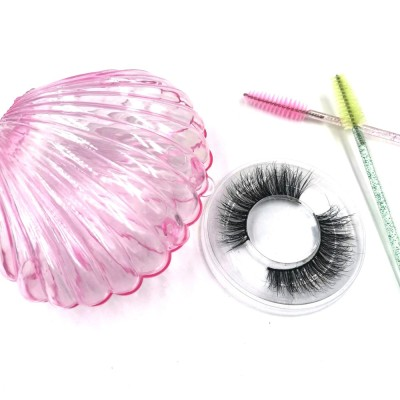 Manufacturer Hot Selling Private Label Circle Eyelash Packaging Eye Lashes 3D Mink Eyelashes