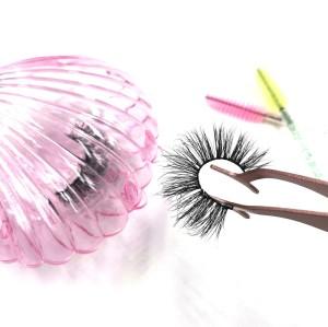 Manufacturer Hot Selling Private Label Circle Eyelash Packaging Eye Lashes 3D Mink Eyelashes